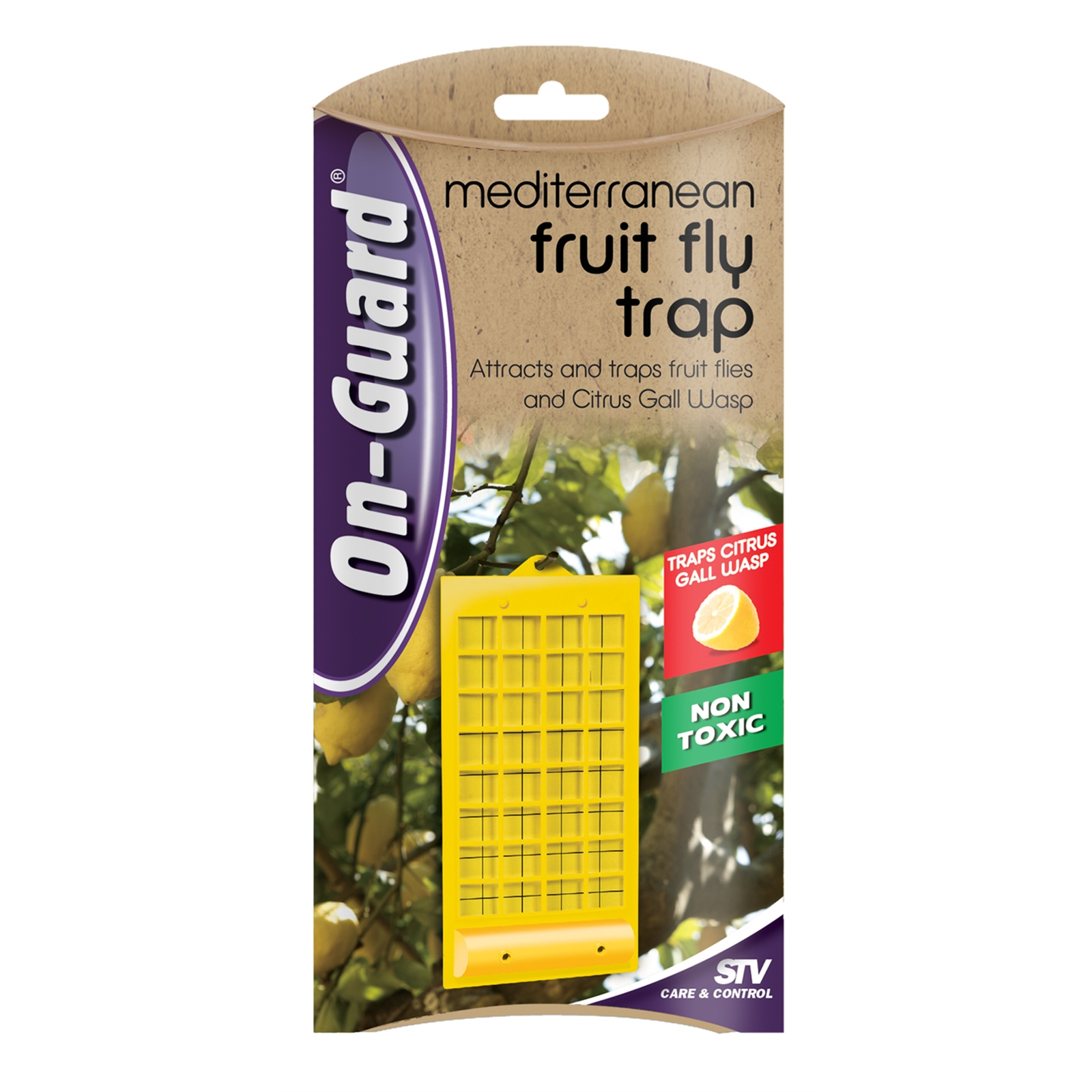 On Guard Mediterranean Fruit Fly Insect Trap